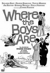 poster from movie Where the Boys Are