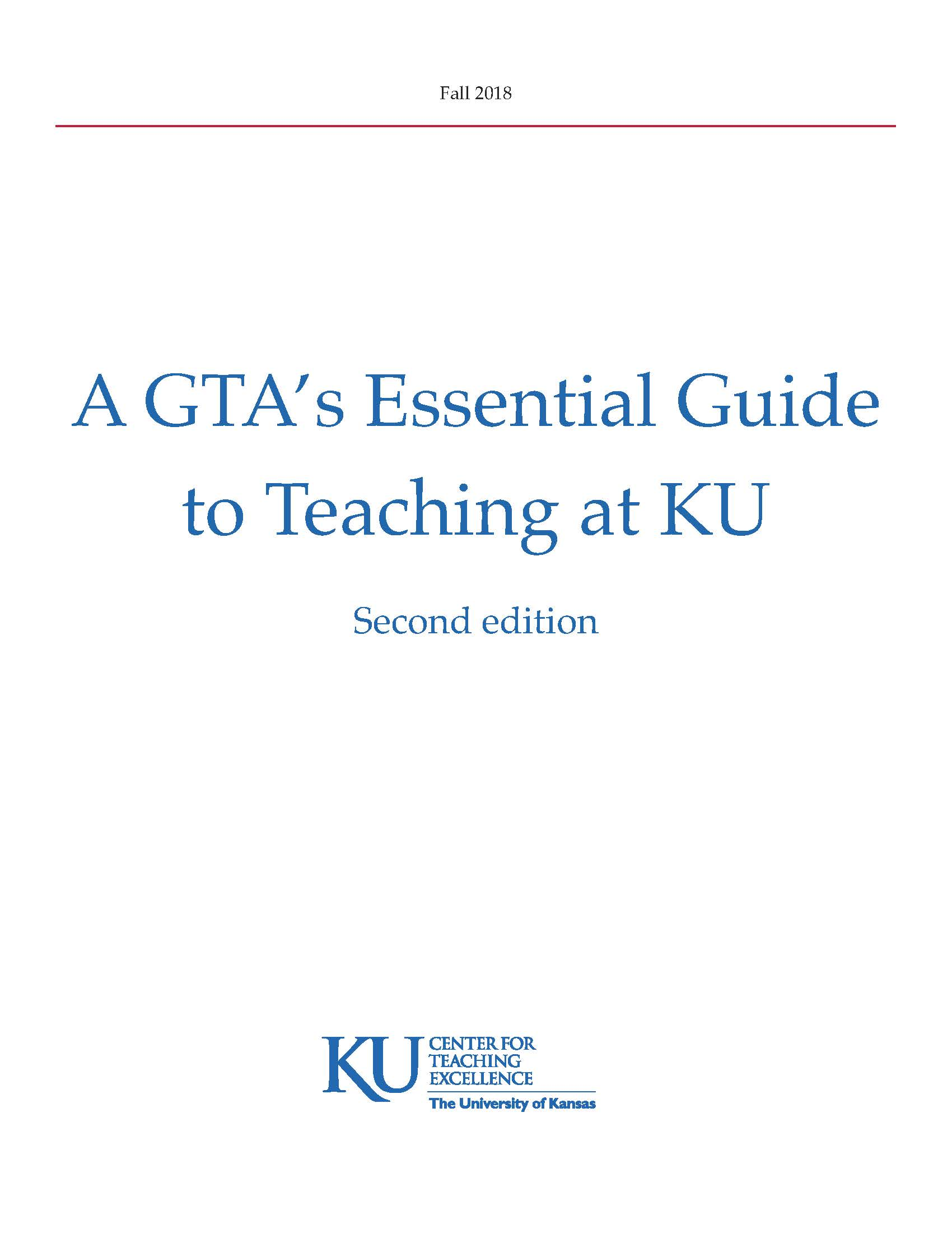 GTA Essential Guide to Teaching